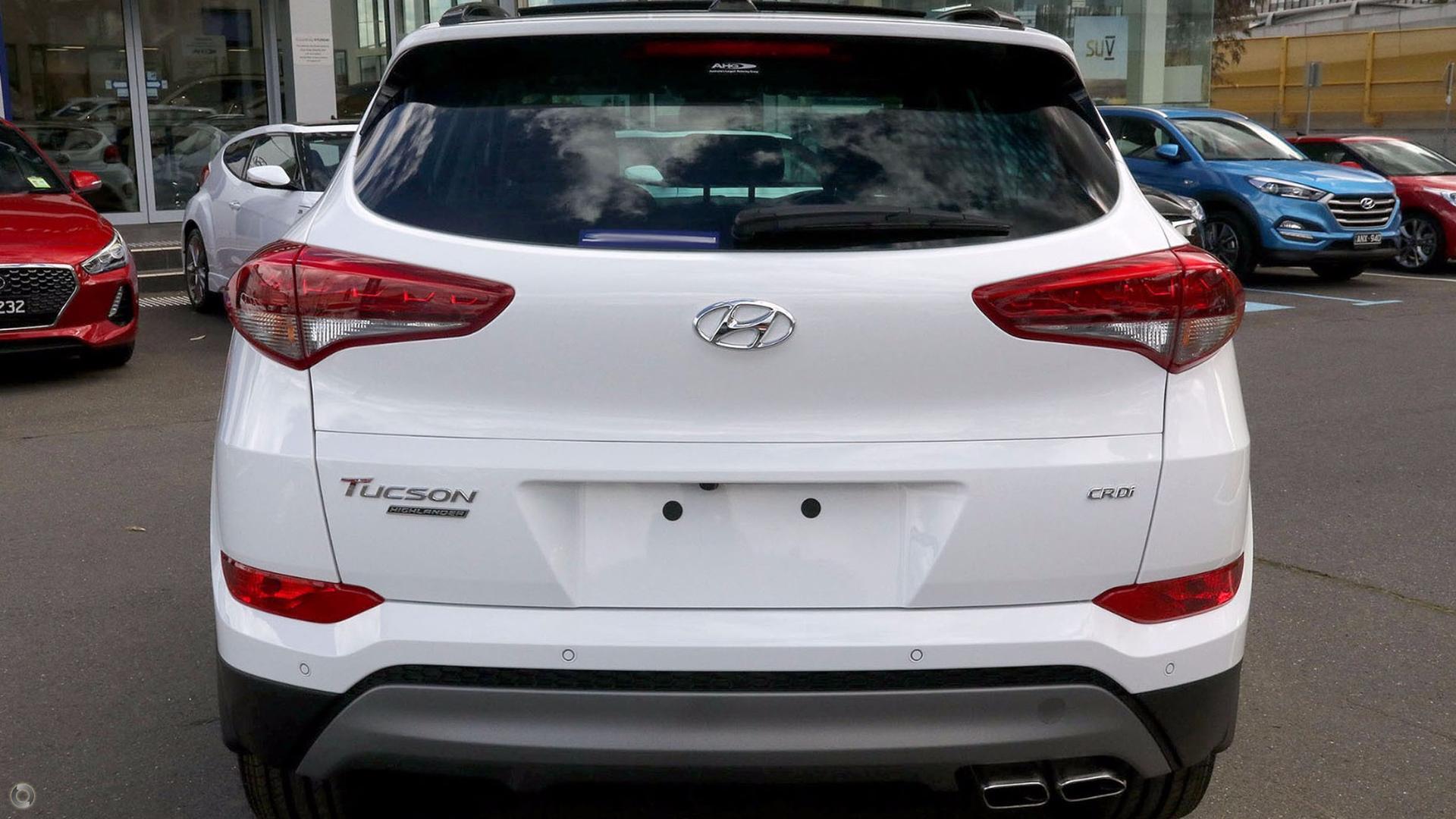 2017 Hyundai Tucson Highlander TLE2