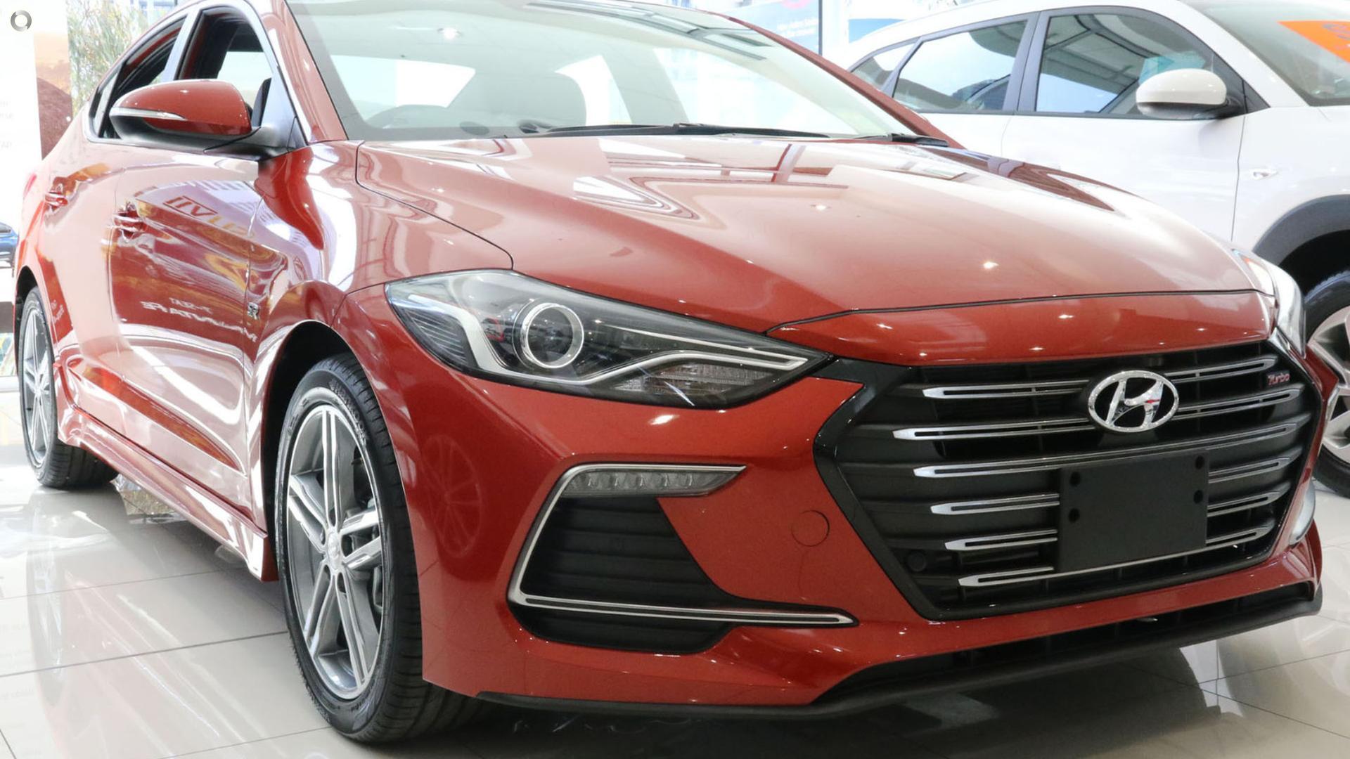 2018 Hyundai Elantra SR Turbo AD