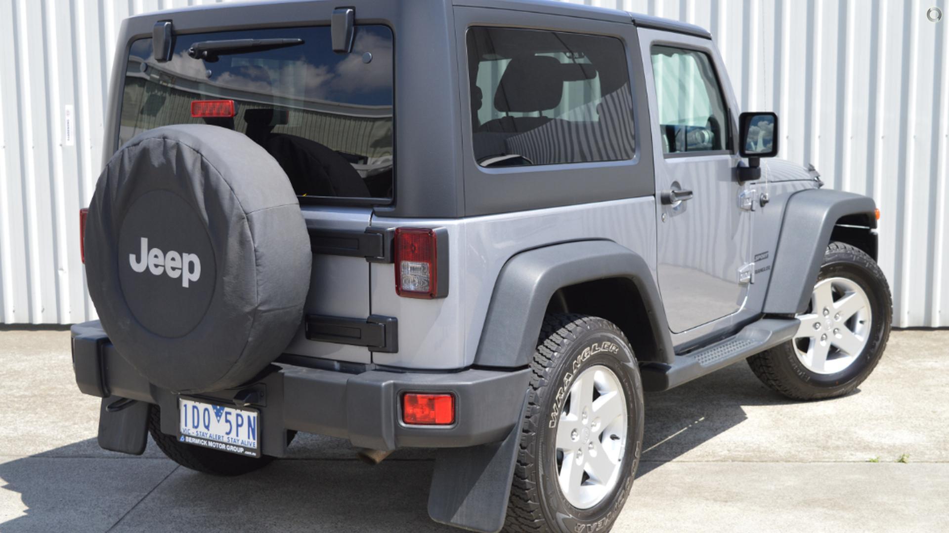2014 Jeep Wrangler Sport JK