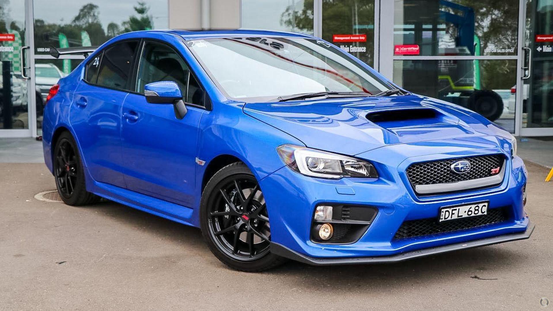 2016 Subaru Wrx Sti Premium