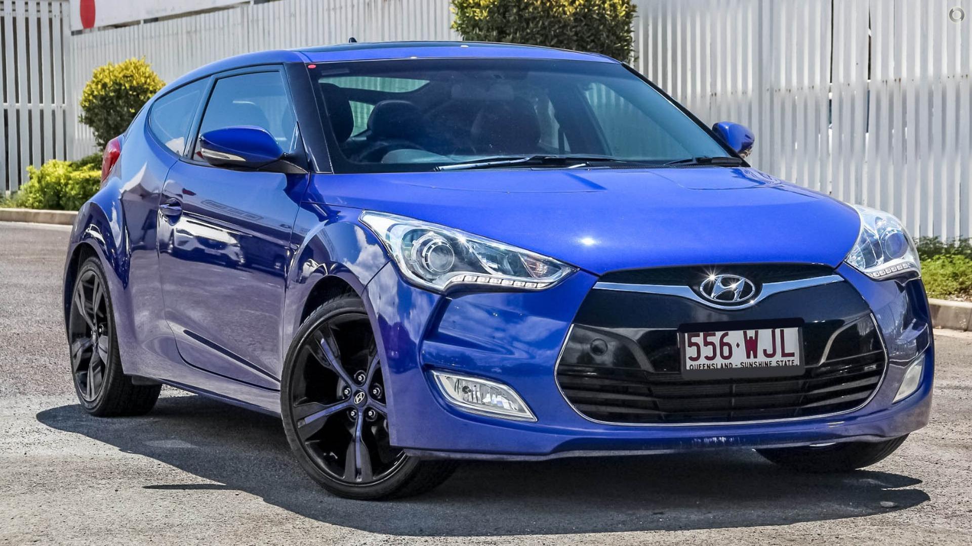 2012 Hyundai Veloster +