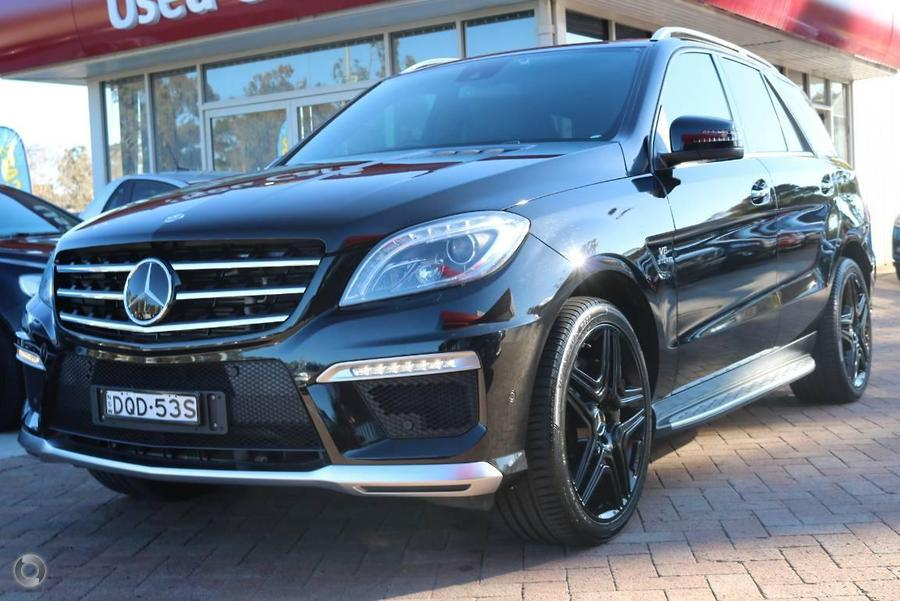 2012 Mercedes-benz Ml63 AMG W166