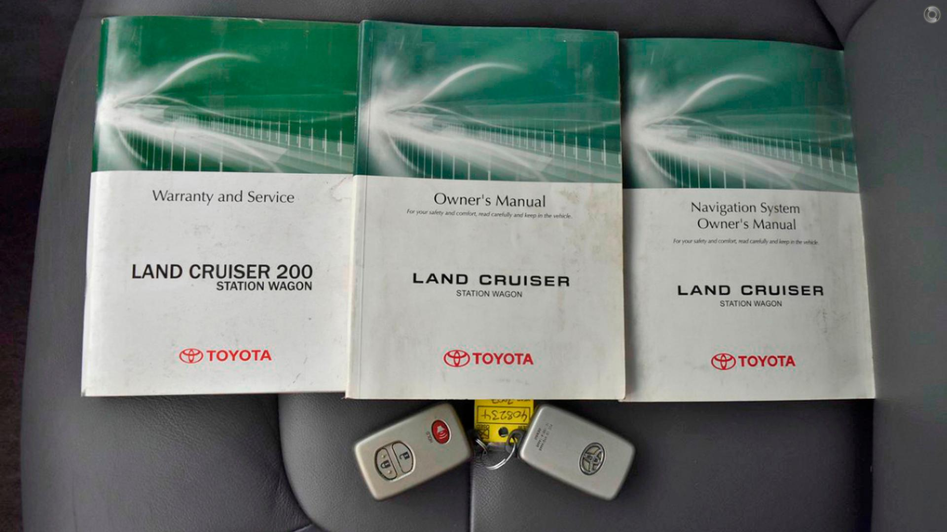 2007 Toyota Landcruiser Sahara VDJ200R
