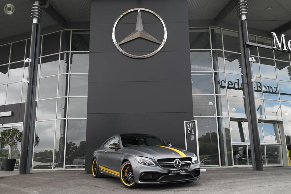 2018 Mercedes-Benz C 63 Coupe