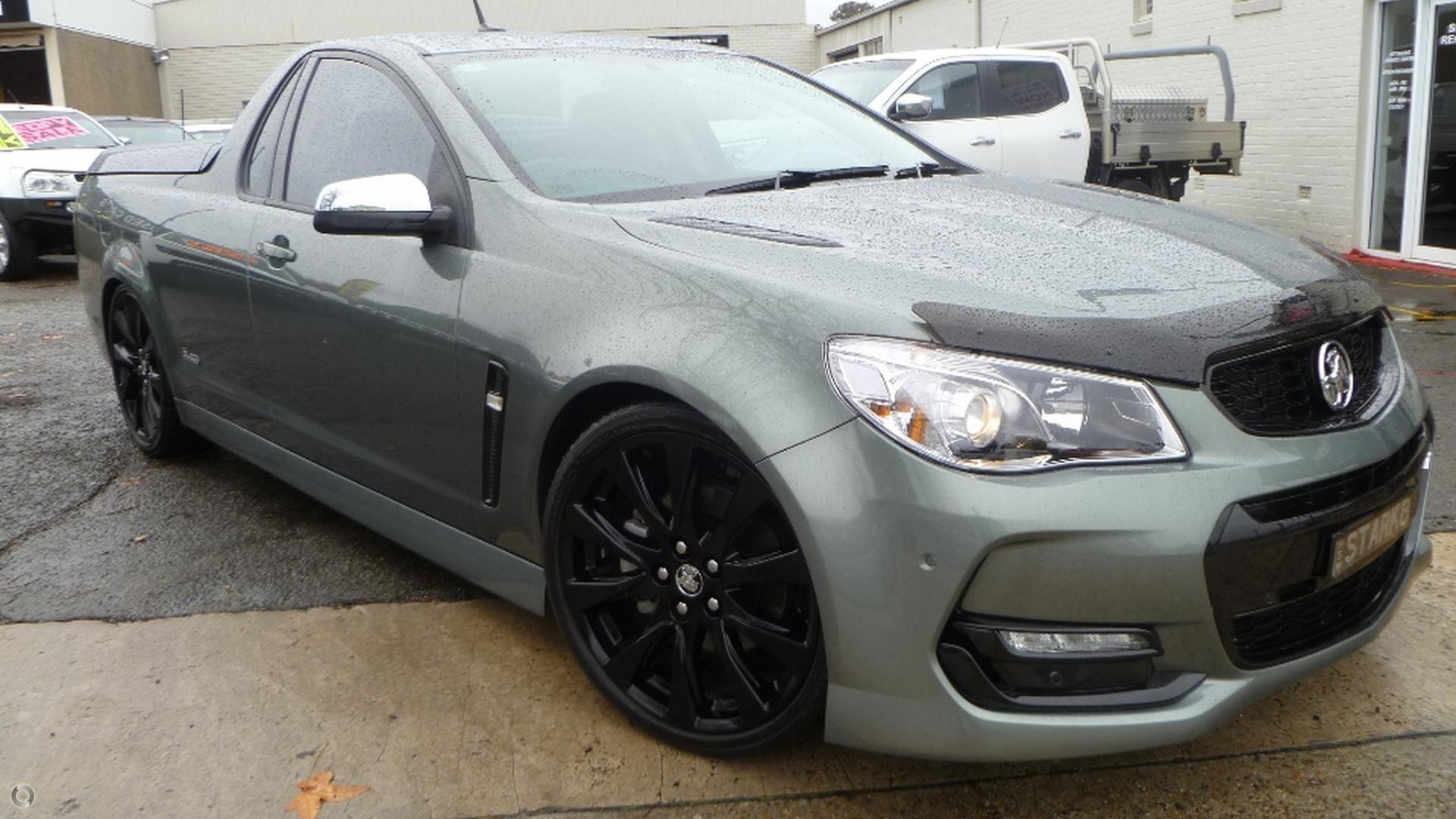 2016 Holden Ute Ss Black