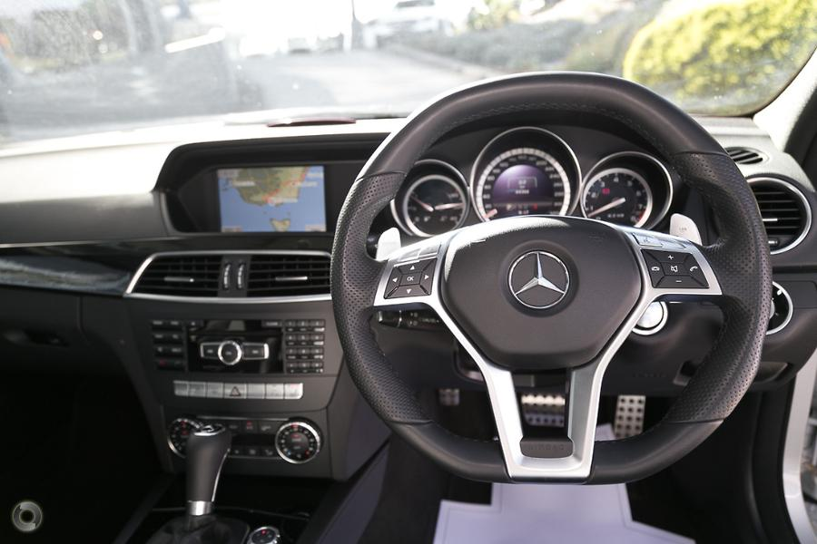 2012 Mercedes-Benz C 63 Sedan