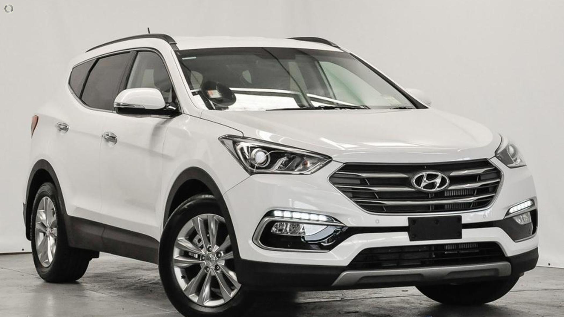2017 Hyundai Santa Fe Elite