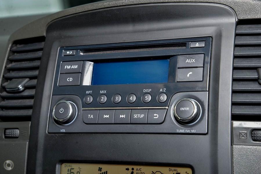2013 Nissan Navara St X 550 D40 Series 5 Bartons