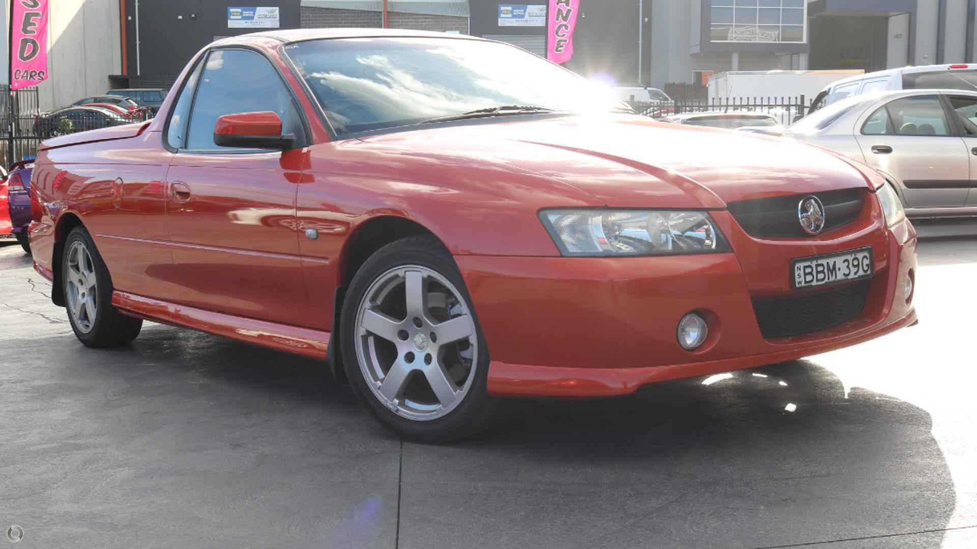 2007 Holden Ute VZ