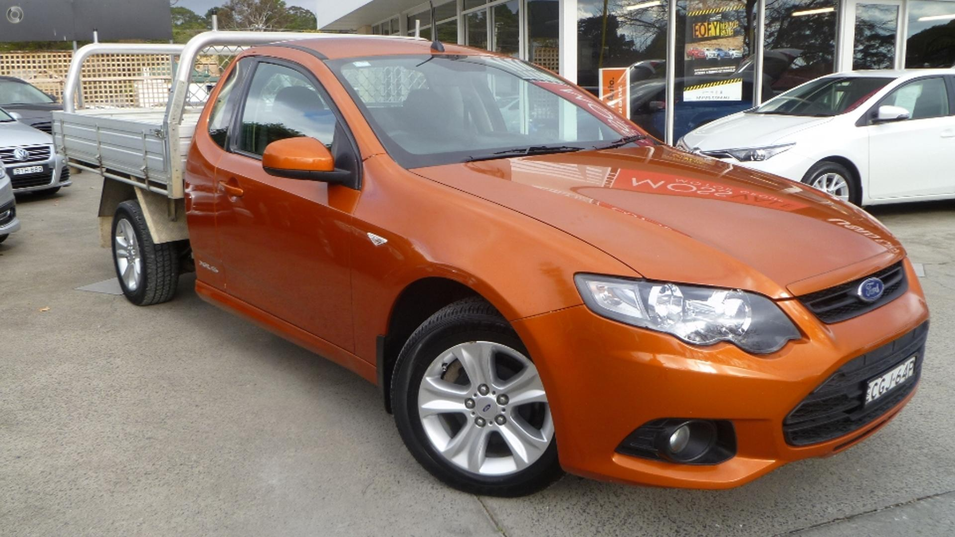 2012 Ford Falcon Ute Xr6