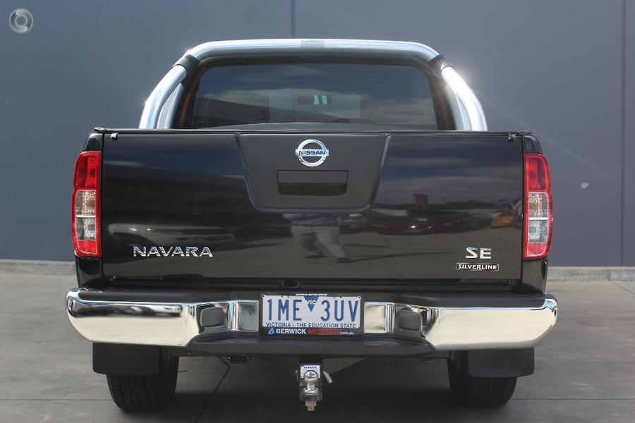 2014 Nissan Navara Silverline SE D40 Series 9