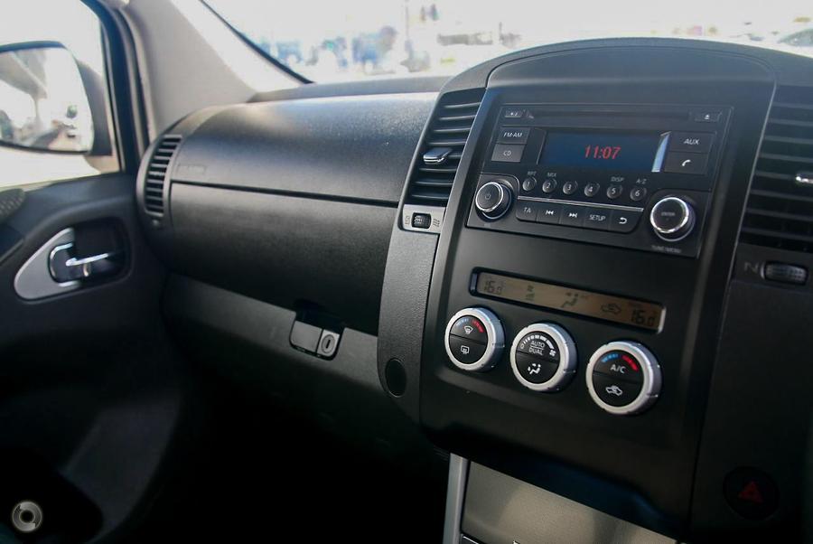 2014 Nissan Navara ST D40 Series 6
