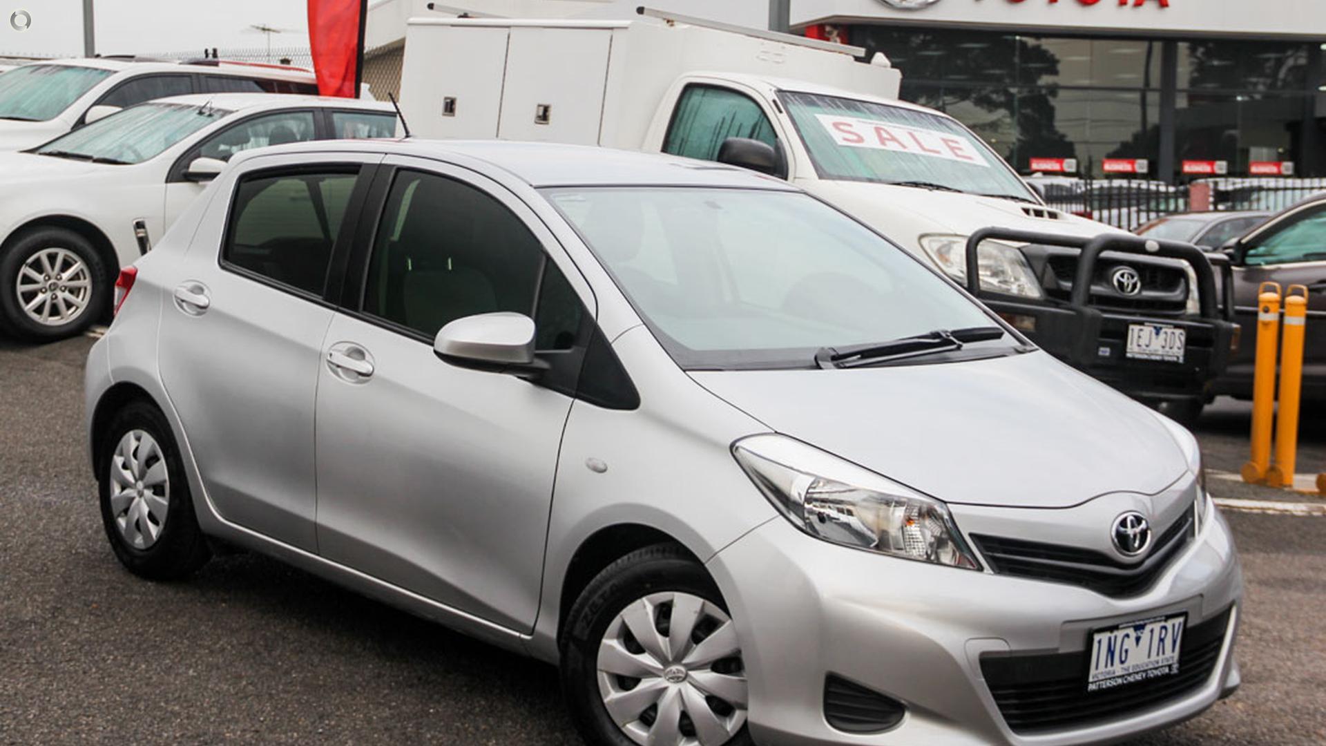 2014 Toyota Yaris NCP130R