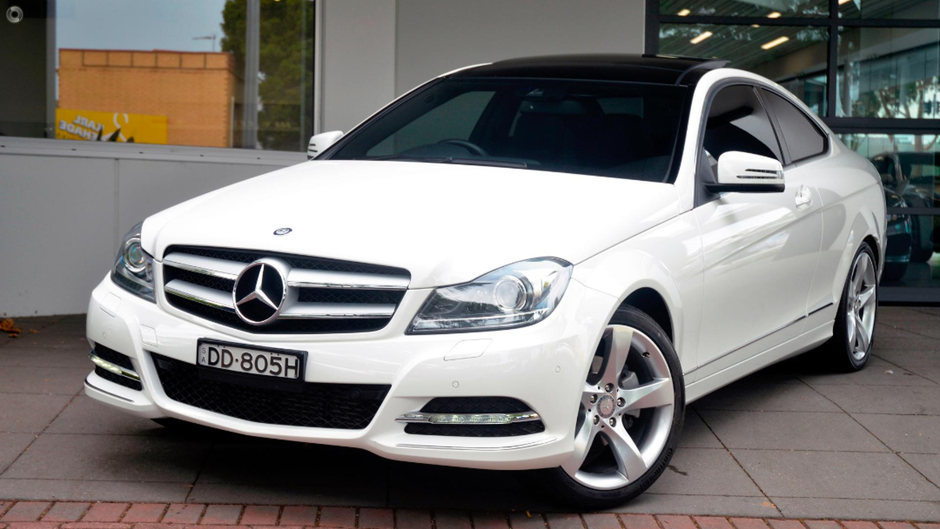 2013 mercedes benz c 250 coupe mercedes benz unley for Mercedes benz pre owned vehicle locator