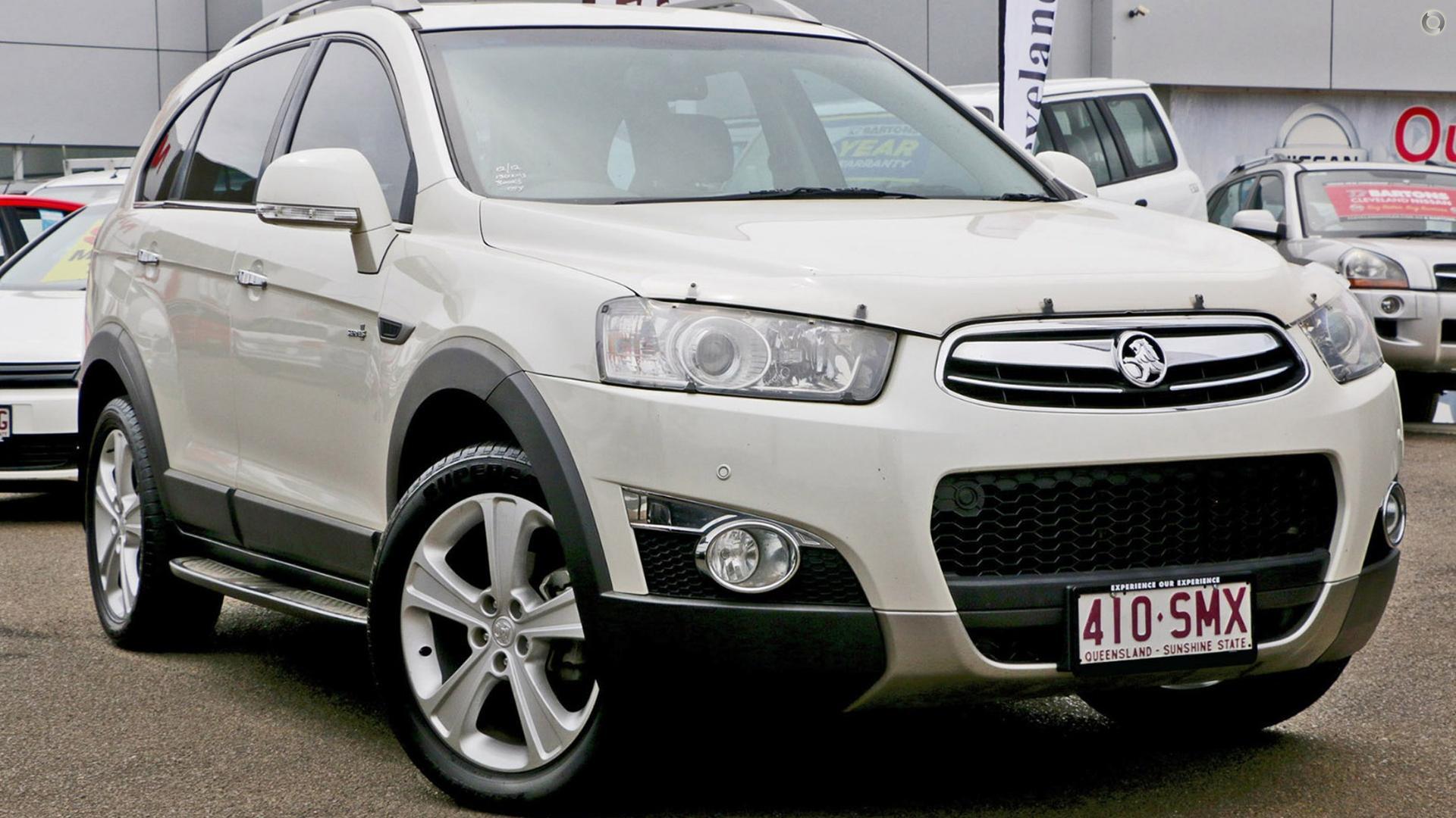 2012 Holden Captiva CG Series II