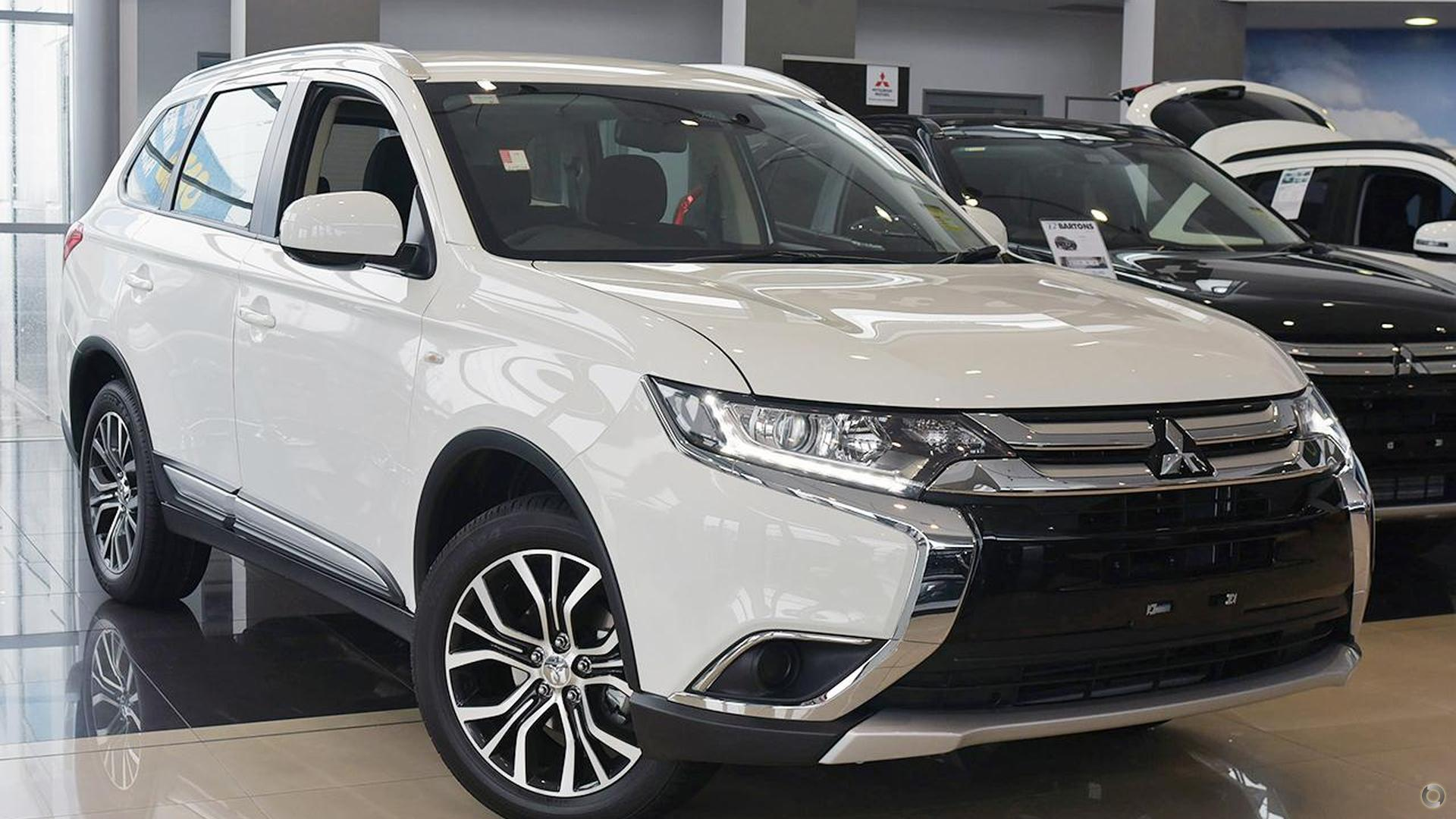 2017 Mitsubishi Outlander Es Adas