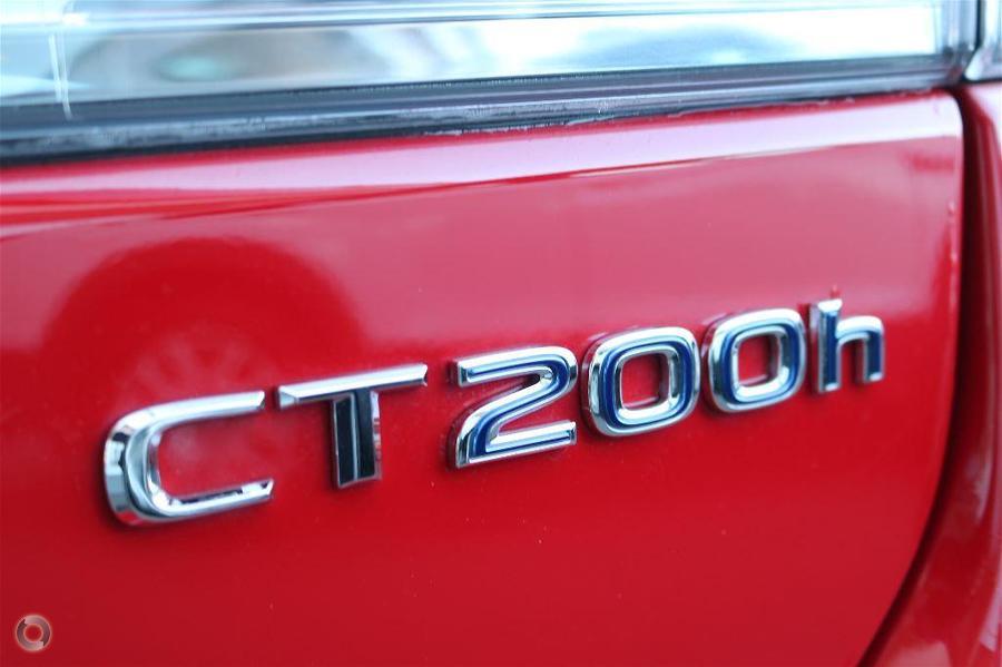 2016 Lexus Ct200h F Sport ZWA10R