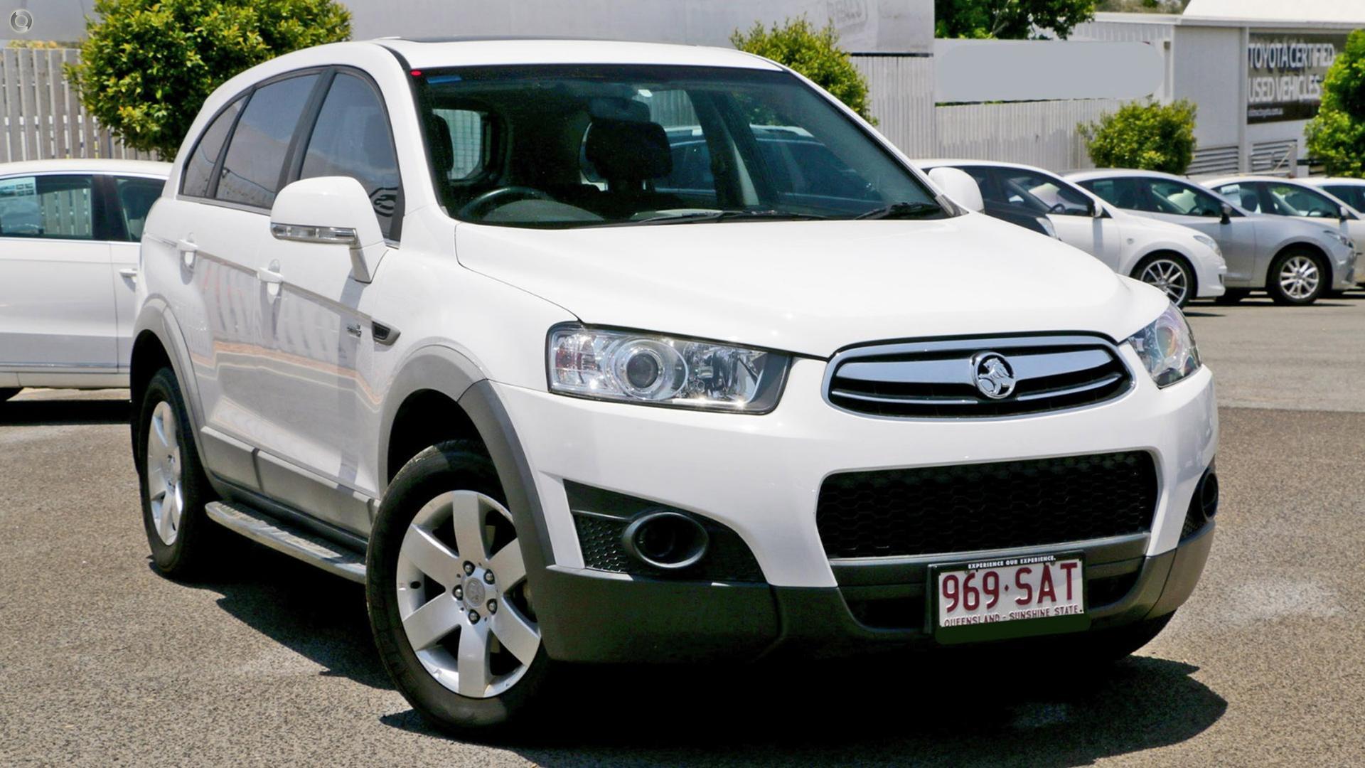 2011 Holden Captiva CG Series II