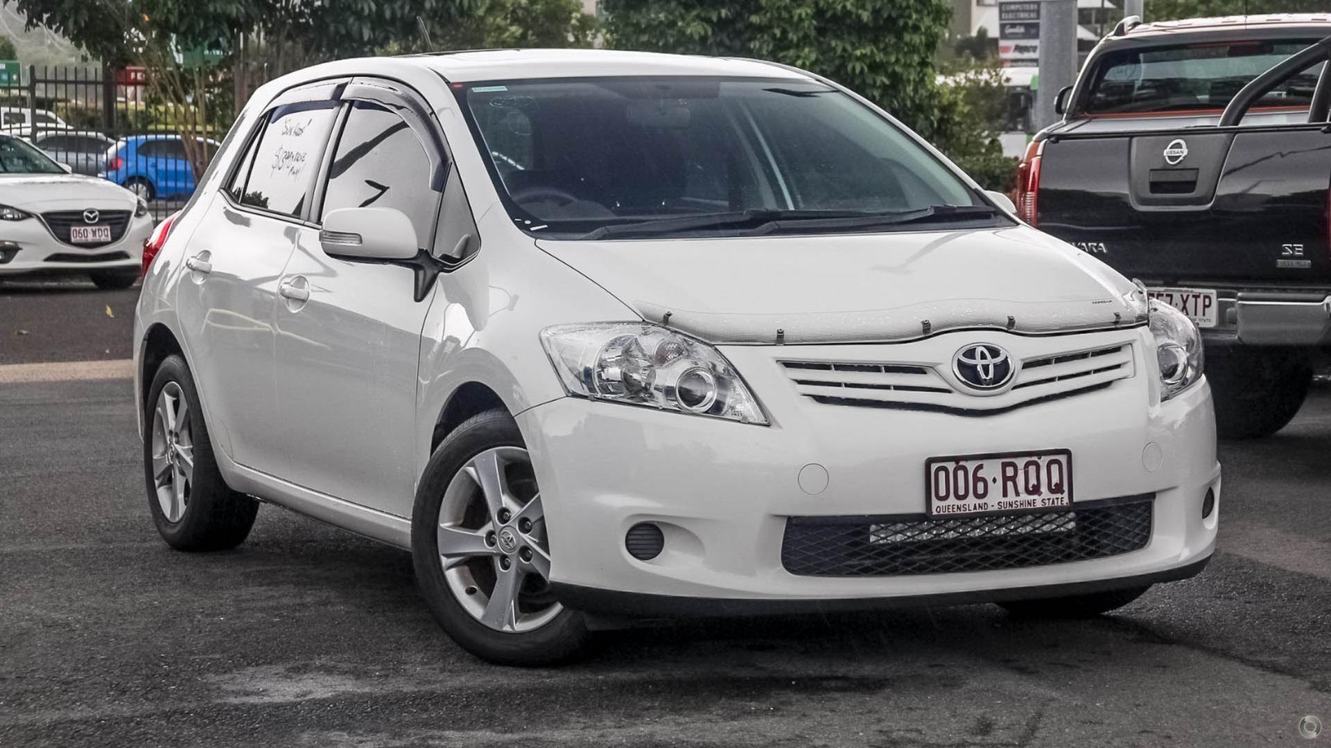 2011 Toyota Corolla Conquest