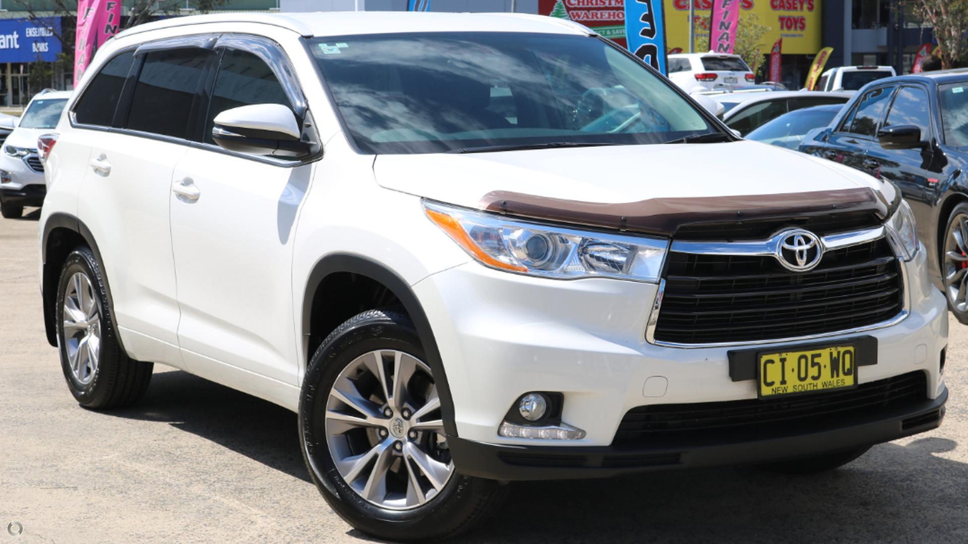 2015 Toyota Kluger Gxl