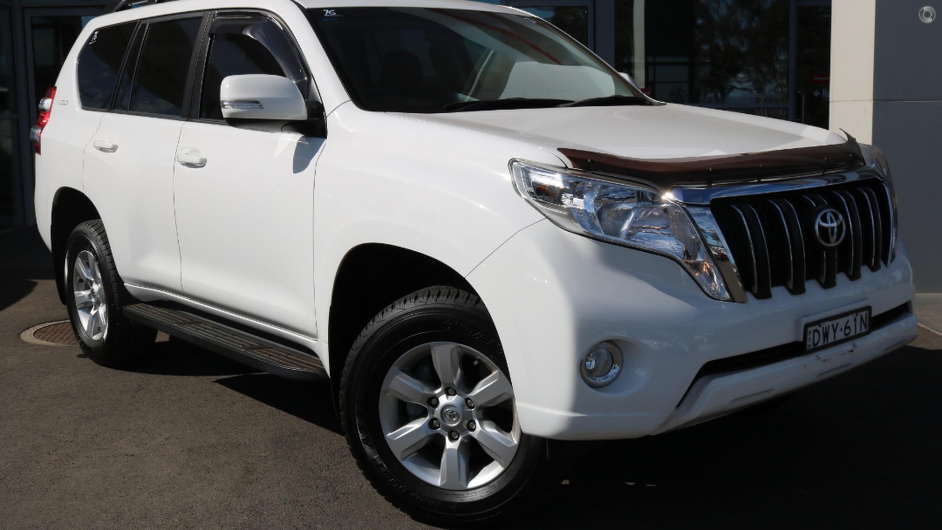 2015 Toyota Landcruiser Prado Gxl