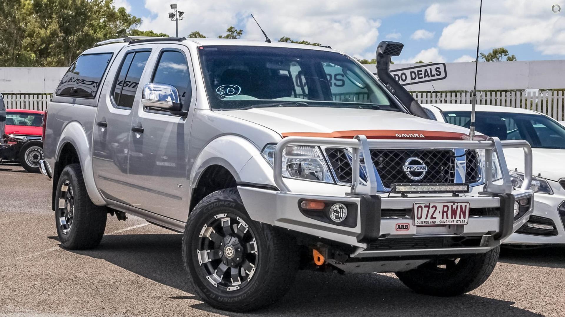 2011 Nissan Navara St-x 550
