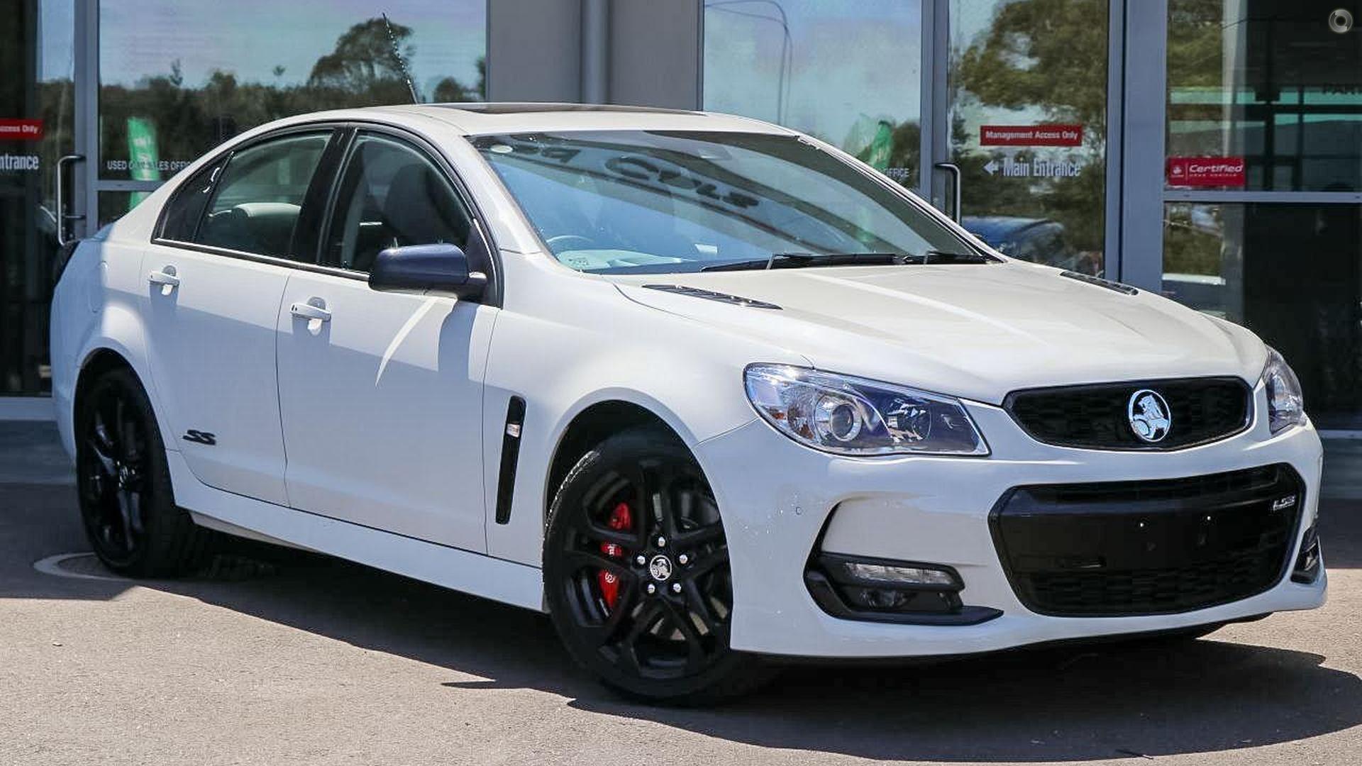 2017 Holden Commodore Ss V Redline