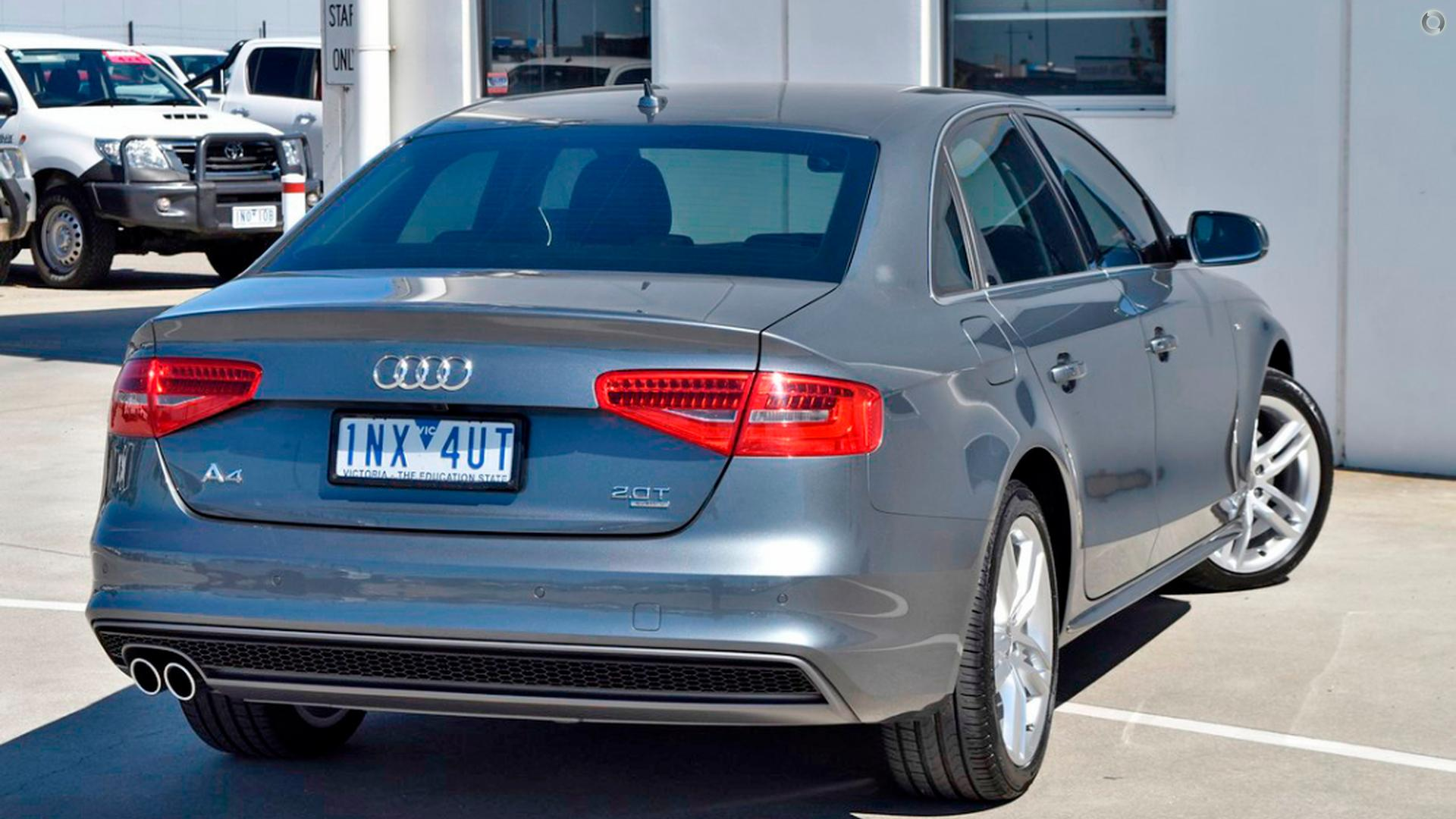 2014 Audi A4 S Line B8