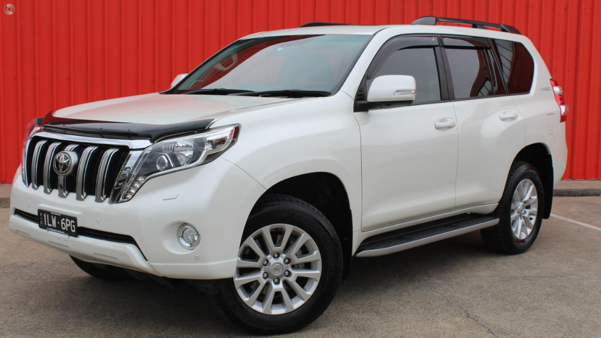 2015 Toyota Landcruiser Prado KDJ150R