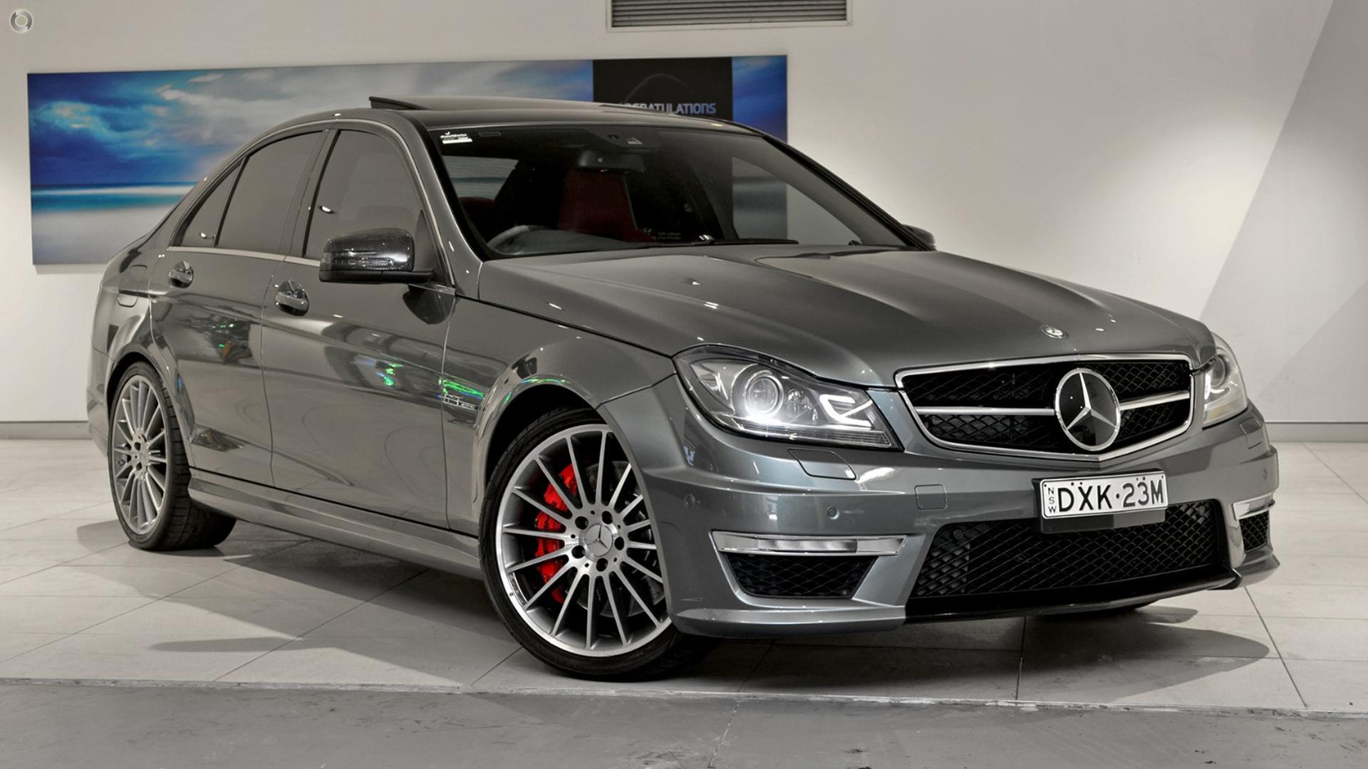 2012 Mercedes-Benz C63 W204