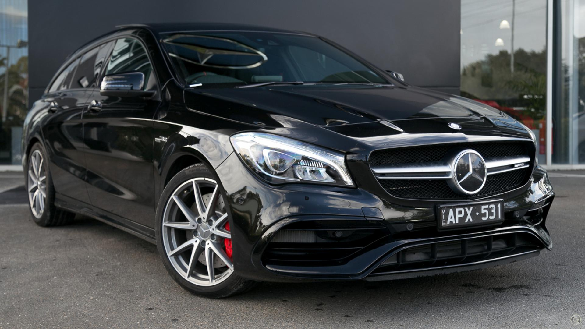 2017 Mercedes-Benz CLA 45 Wagon