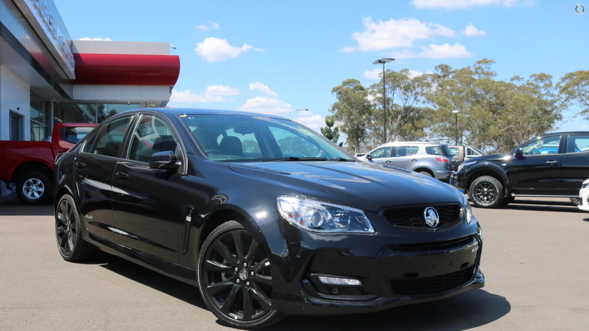 2016 Holden Commodore Ss Black