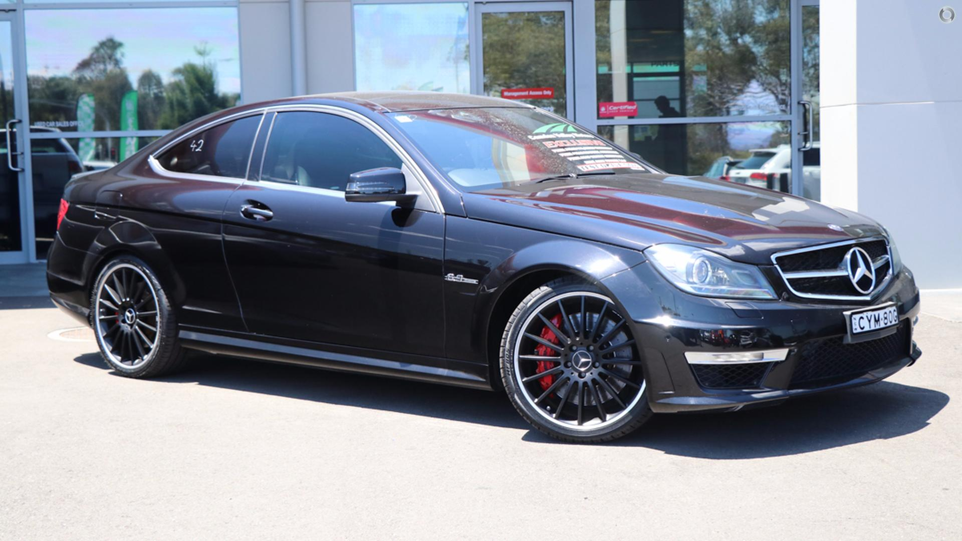 2012 Mercedes-benz C63 Amg Performance Package