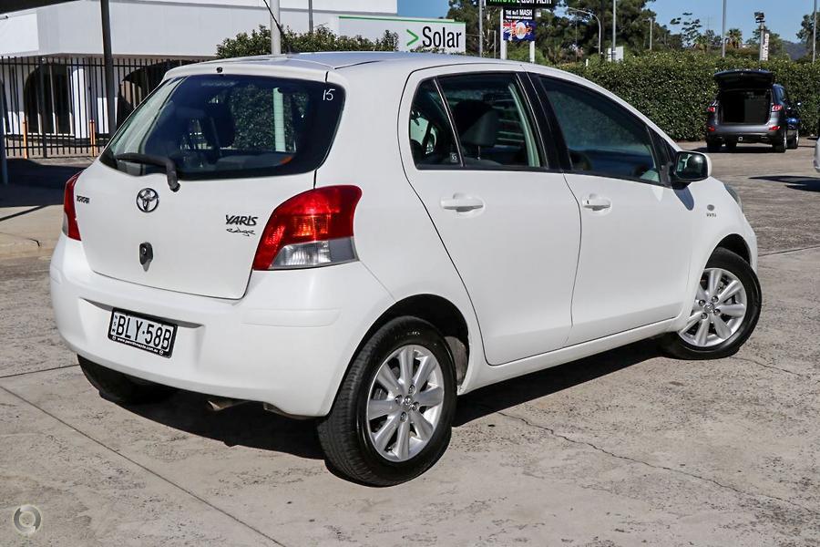 2009 Toyota Yaris Edge NCP90R