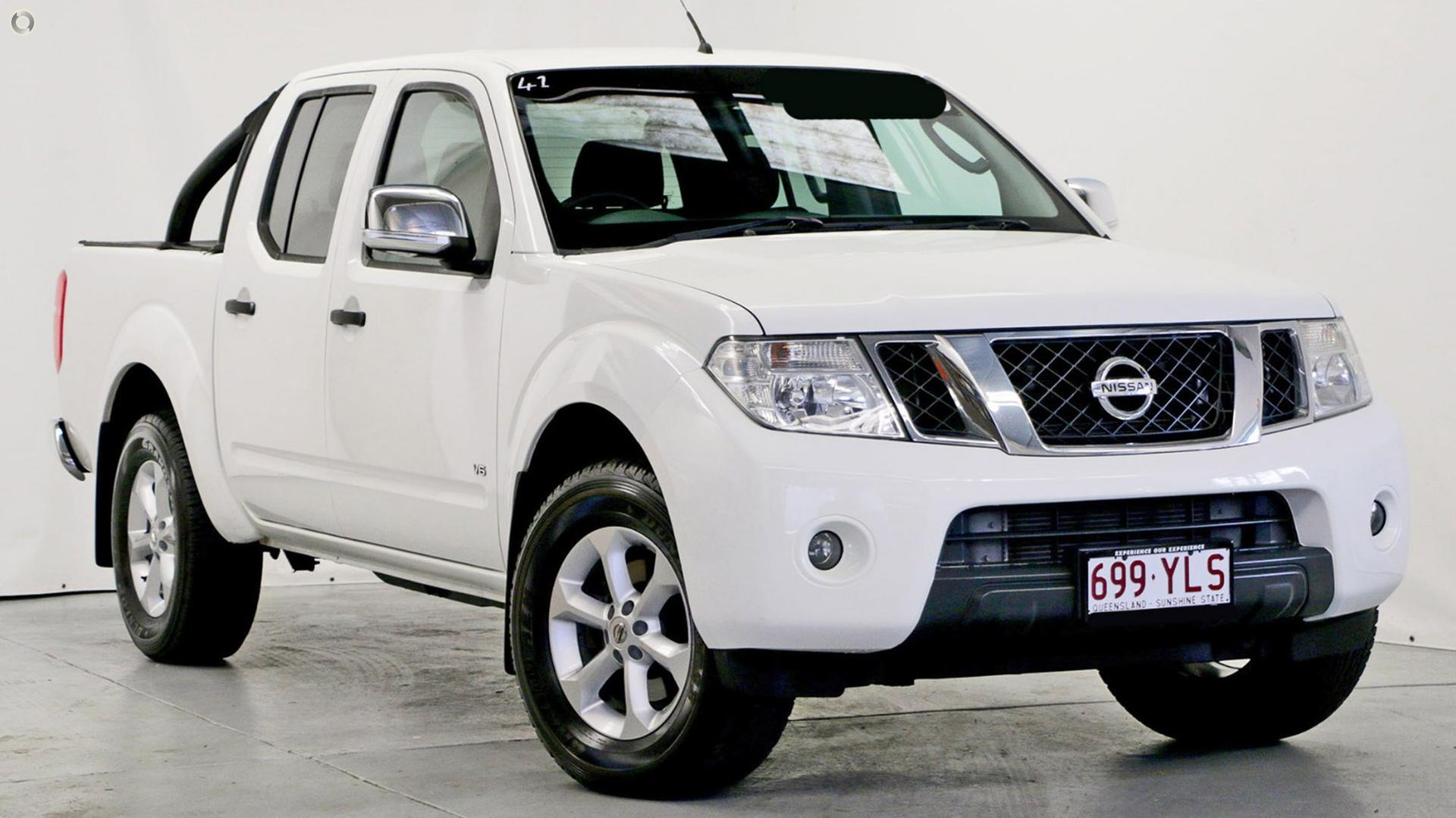 2013 Nissan Navara D40 Series 5