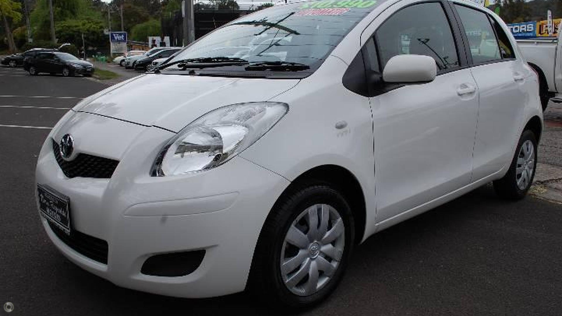 2010 Toyota Yaris Ncp90r