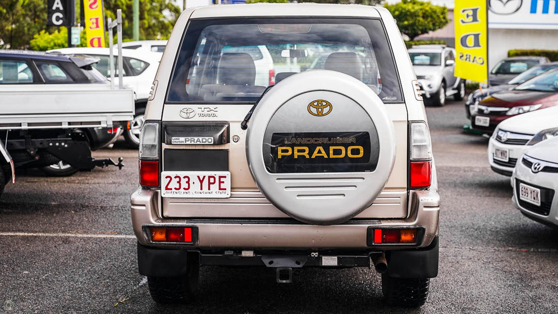 2002 Toyota Landcruiser Prado TX KZJ95R