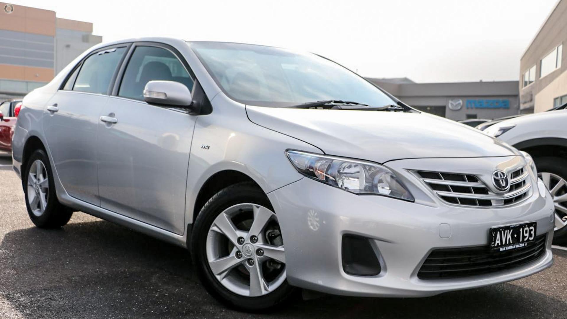 2012 Toyota Corolla Conquest