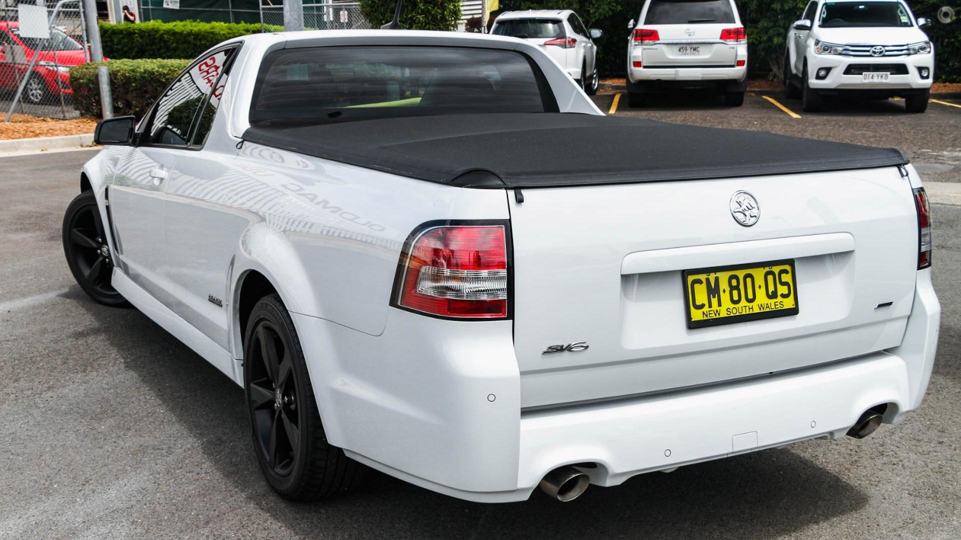 2016 Holden Ute SV6 Black VF Series II