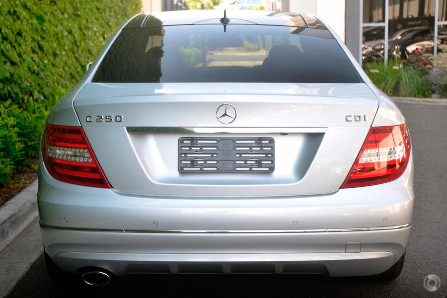 2012 Mercedes-Benz C 250 CDI Coupe