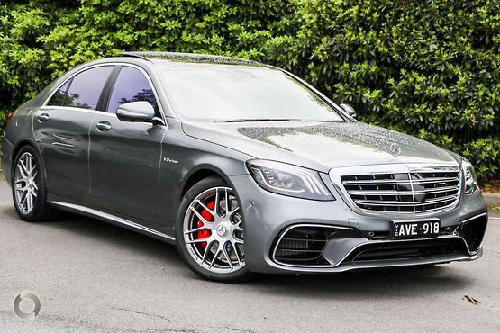 2018 Mercedes-Benz <br>S 63