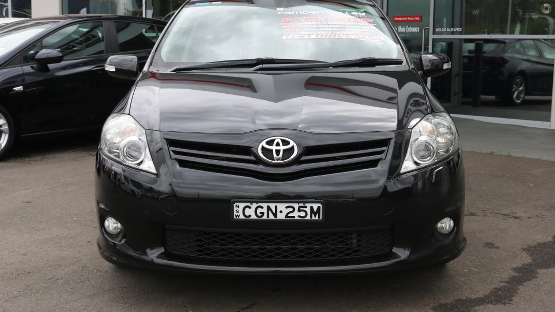 2011 Toyota Corolla Levin Zr