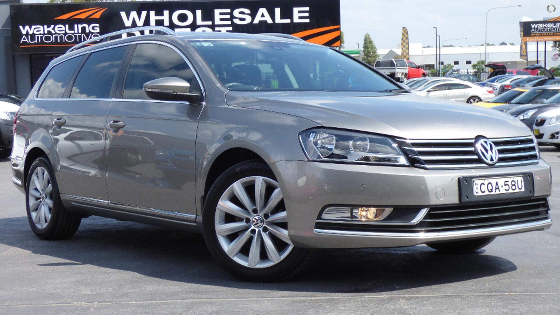 2013 Volkswagen Passat Type 3C