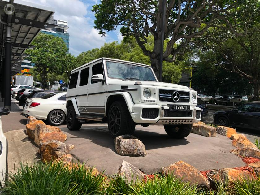 2018 Mercedes-Benz G 63 Wagon