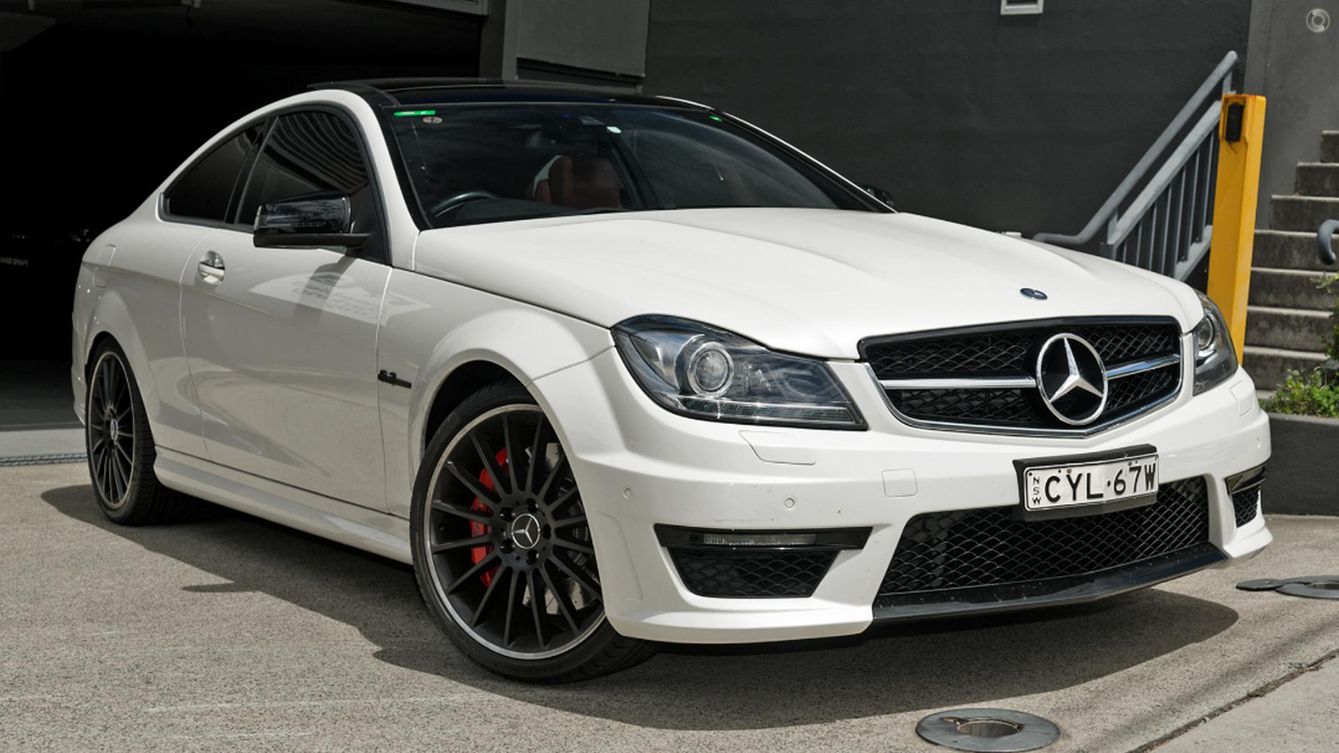 2012 Mercedes-Benz C63 C204