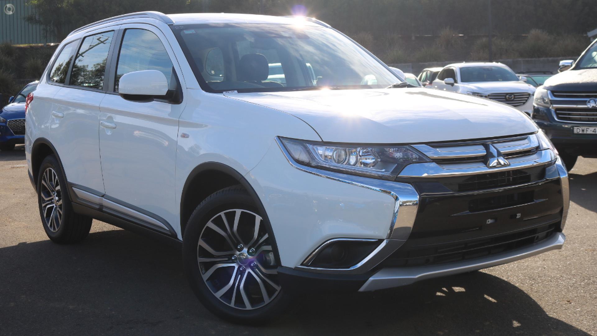 2018 Mitsubishi Outlander Es Adas
