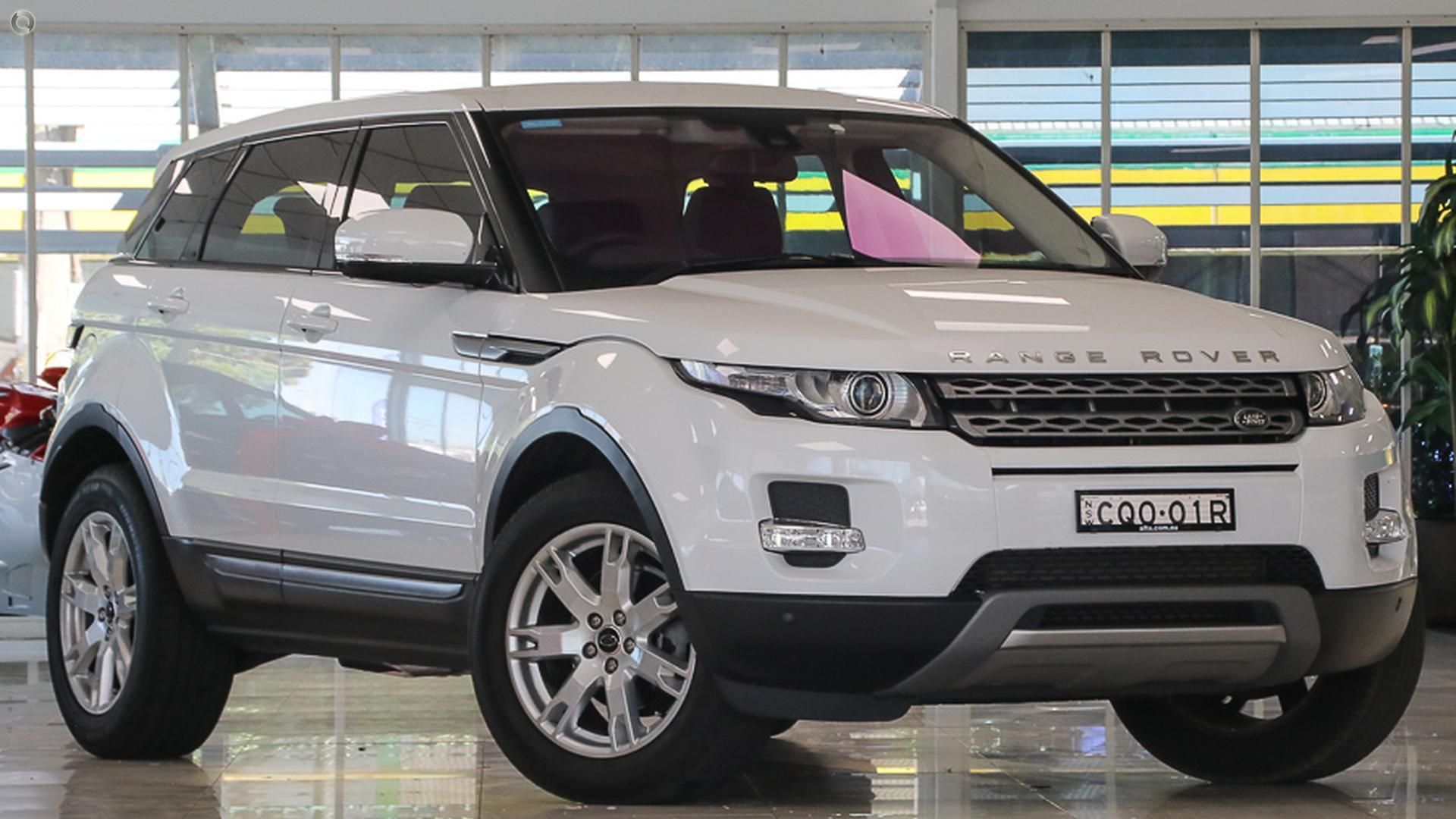 2013 Land Rover Range Rover Evoque L538