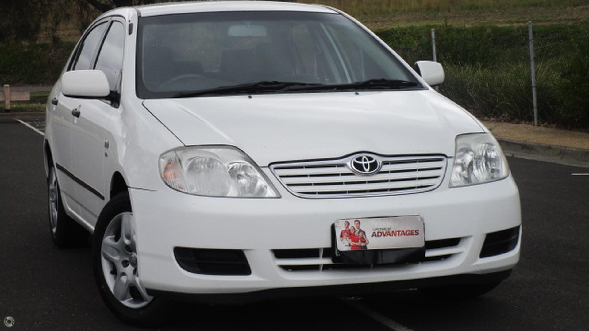2007 Toyota Corolla ZZE122R