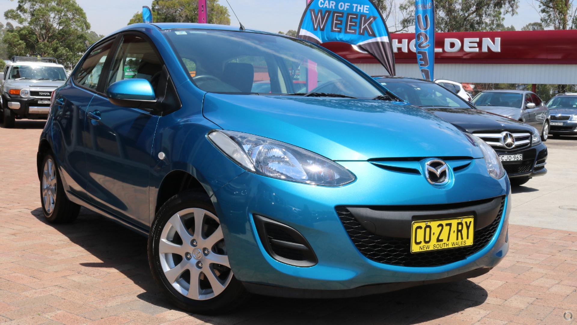 2011 Mazda 2 Maxx