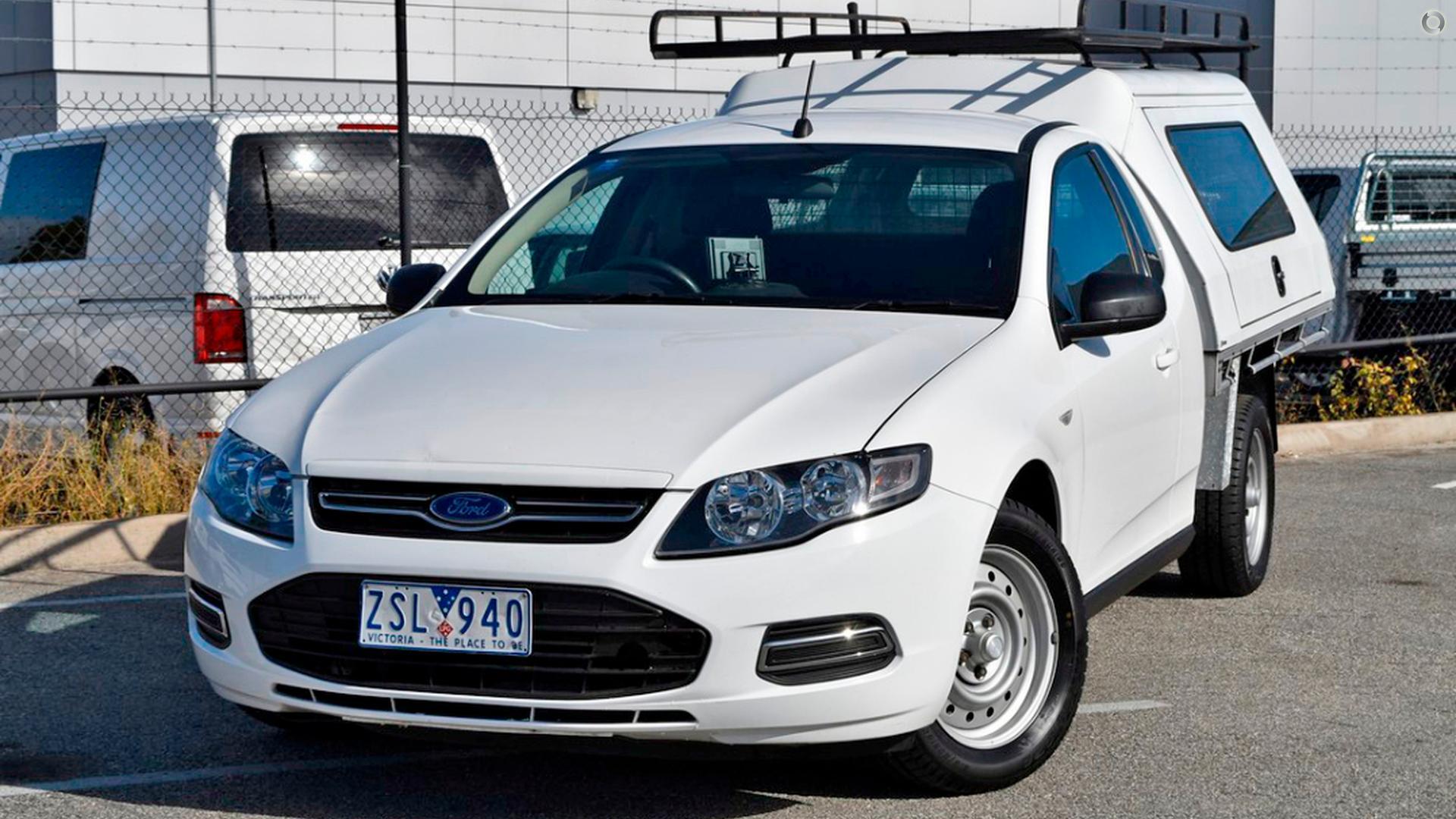 2013 Ford Falcon Ute EcoLPi FG MkII